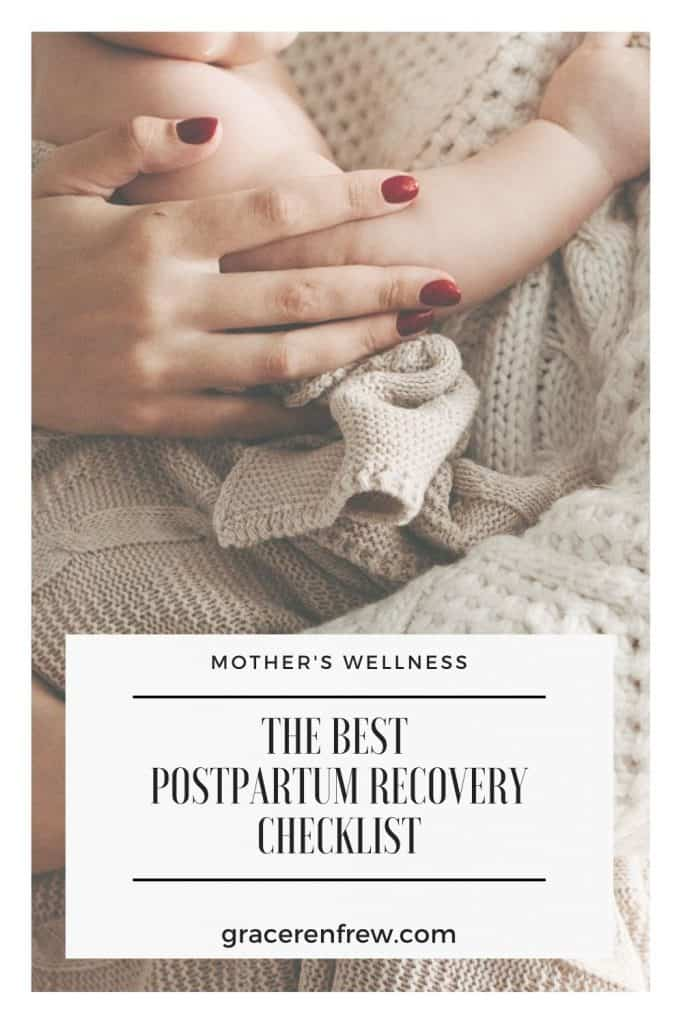 What do you do after the baby is born, other than the obvious? You take care of yourself! Check out the best postpartum recovery checklist.