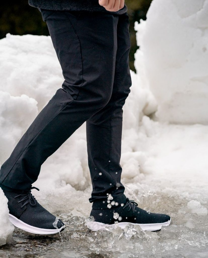 For Him on your exclusive Christmas gift guide! Men are so hard to shop for but you can't go wrong with Vessi waterproof shoes!
